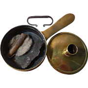 Sheet Brass 18th century Tinder Box England
