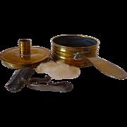 Sheet Brass Tinderbox 18th Century