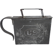 1870'2 US mess kit/meat container and cup