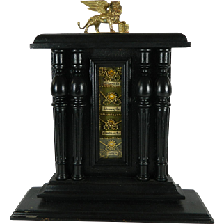 Large Reliquary with Relics from Four Evangelists ST Mark ST Luke ST John ST Mathew Italy