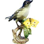 Vintage Hand Painted Goebel Porcelain Figurine of a Bird – Germany 20th Century