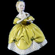 Vintage Hand Painted Royal Doulton Porcelain Figurine The Last Waltz – Great Britain 20th Century