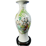 Antique Chinese Hand Painted Porcelain Vase – China 19th Century