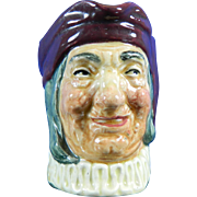 Vintage Royal Doulton Simon the Cellarer Toby Jug Hand Painted Porcelain – England 20th Century