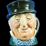 Vintage Royal Doulton Micauber Toby Jug Hand Painted Porcelain – England 20th Century