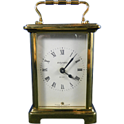 Old Bayard Brass Carriage Clock – France 20th Century
