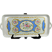 Vintage Hand Painted OTCO Porcelain Cookie Tray – Italy 20th Century