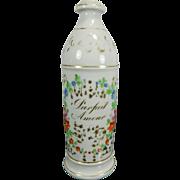 Antique Hand Painted Old Paris Style Porcelain Perfume Bottle – France 19th Century