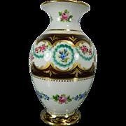 Vintage Hand Painted Sevres Porcelain Vase – France 20th Century