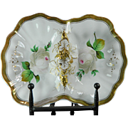 Vintage Hand Painted KPM Porcelain Tray – Germany 20th Century