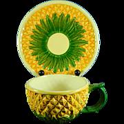 Vintage Hand Painted Metropolitan Museum of Art Porcelain Cup + Saucer Set – Philippines 20th Century