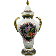 Vintage Hand Painted RW Bavaria Porcelain Urn – Germany 20th Century