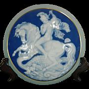 Vintage Hand Painted Limoges Porcelain Jewel or Trinket Box – France 20th Century