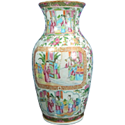 1800-1850 Famille Verte or Green Family Porcelain Vase China