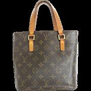 Authentic LOUIS VUITTON Monogram Canvas Leather Vavin PM Small Handbag Bag Purse