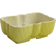 Kitschy Yellow USA Pottery Planter