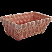 1950's Pink UPCO USA Large Ceramic Pottery Planter