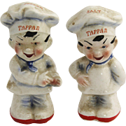 1950's Japan Tappan Advertising Salt & Pepper Shakers