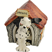 DREAMIE The Dalmatian Dog & Dog House Japan Salt & Pepper Shakers