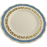 Royal Doulton Antique Hand Painted Dinner Plate with Gold