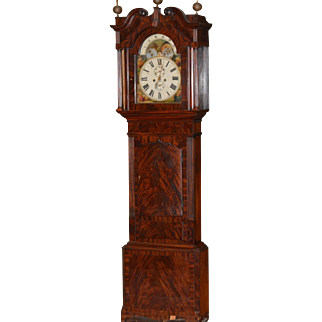 European Tall Case Clock