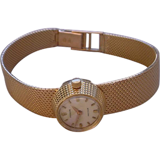 Vintage Beautiful Ladies Rolex Chameleon 18K Gold