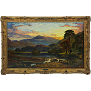 Fine 19th C. Oil on Canvas by Charles Pettitt
