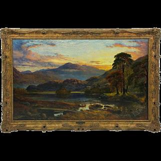 Fine 19th C. Oil on Canvas by Charles Pettitt