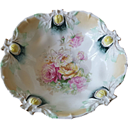 RS Prussia Hand-painted Bowl