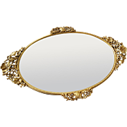 Beautiful Matson Mirrored Vanity Tray