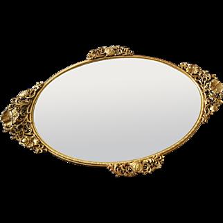 Beautiful Matson Mirrored Vanity Tray