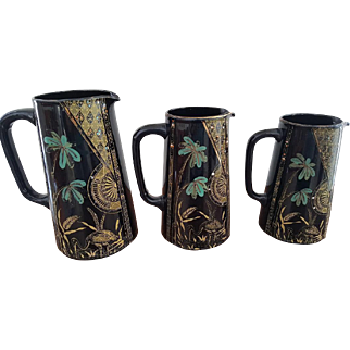 Graduated Set of Gibson & Sons Aesthetic English Jugs