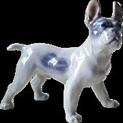 Royal Copenhagen French Bulldog Figurine
