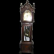 Mahogany Elliott 9 Tube Grandfather Clock
