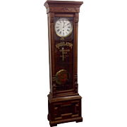 Walnut and Burl Regular Clock
