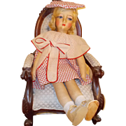 Blossom Boudoir cloth doll