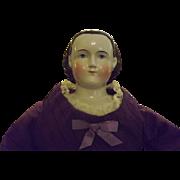 """""""Alice"""" china  1850 doll"""