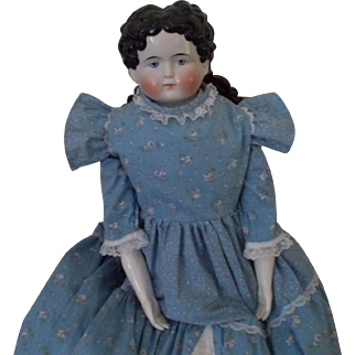 HUGE Antique 1880's China Doll