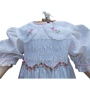 Wonderful large doll dress
