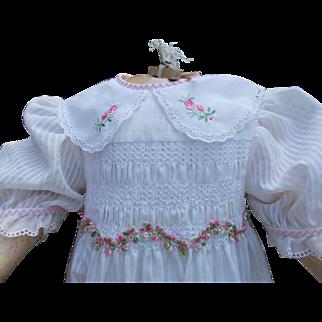 Wonderful large doll dress