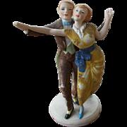 German Dance Couple