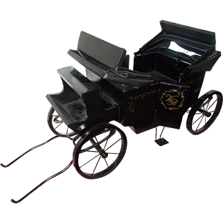 Old Wooden Doll Carriage