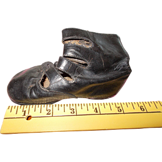 Vintage Leather Doll  Shoes