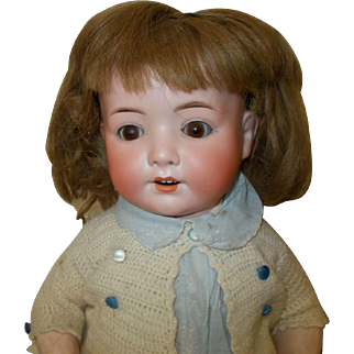 Antique German Heubach Kopplesdorf Character Baby