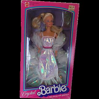 Crystal Barbie by Mattel circa 1983