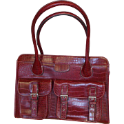 Burgandy Briefcase