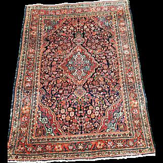 """42""""by 59"""",  Gorgeous, Mint,  Vintage Persian Josan Sarouk"""