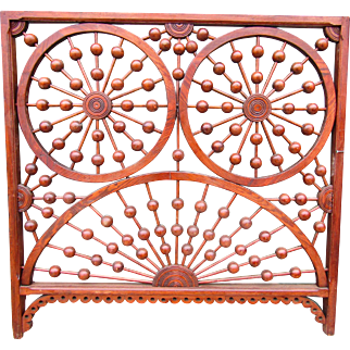 Fancy Antique Stick and Ball style Fretwork