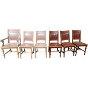 Set of 6 Victorian walnut Dining Chairs