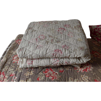 Antique French quilt